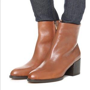Sam Edelman Joey booties brown leather